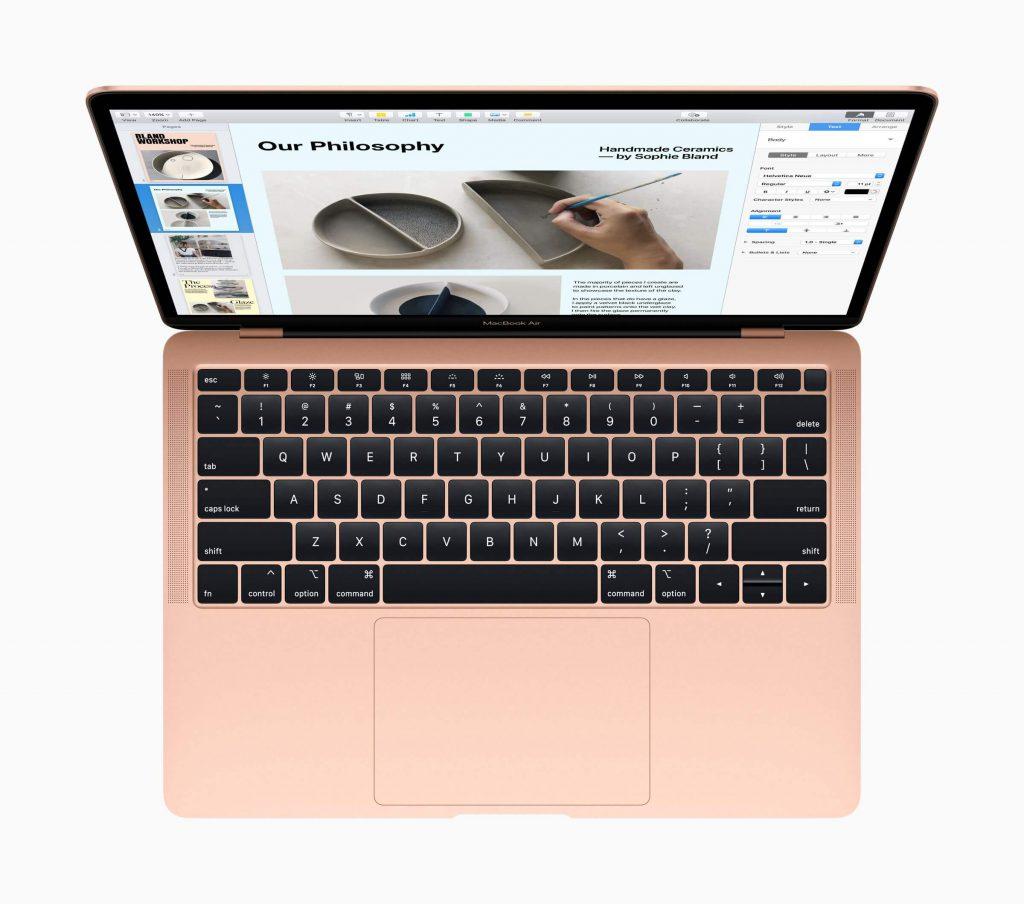 macbook air top
